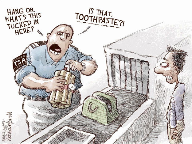 Nick Anderson  Nick Anderson's Editorial Cartoons 2015-06-04 security