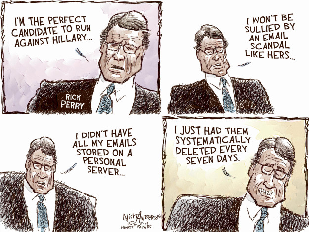 Cartoonist Nick Anderson  Nick Anderson's Editorial Cartoons 2015-06-05 2016 election