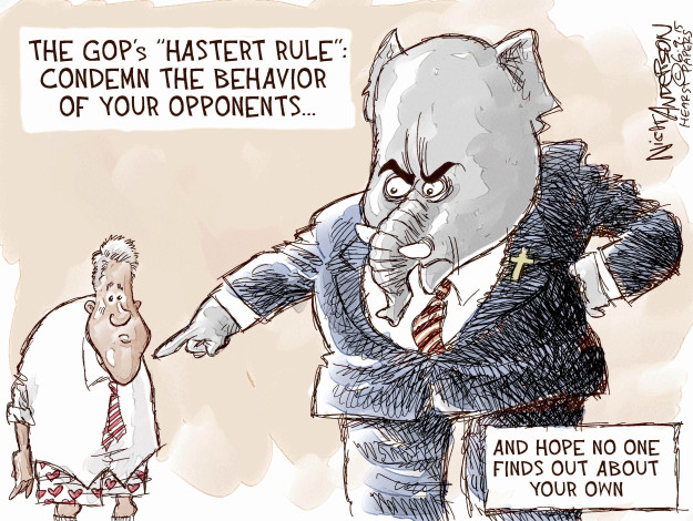 Cartoonist Nick Anderson  Nick Anderson's Editorial Cartoons 2015-06-09 speaker
