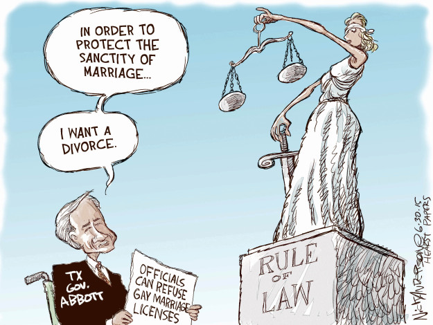 Cartoonist Nick Anderson  Nick Anderson's Editorial Cartoons 2015-06-30 rule of law