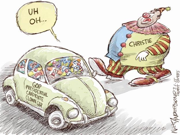 Cartoonist Nick Anderson  Nick Anderson's Editorial Cartoons 2015-07-01 president