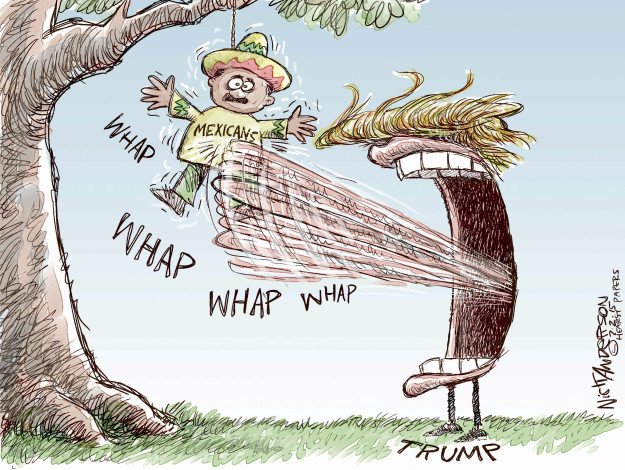 Cartoonist Nick Anderson  Nick Anderson's Editorial Cartoons 2015-07-02 Donald