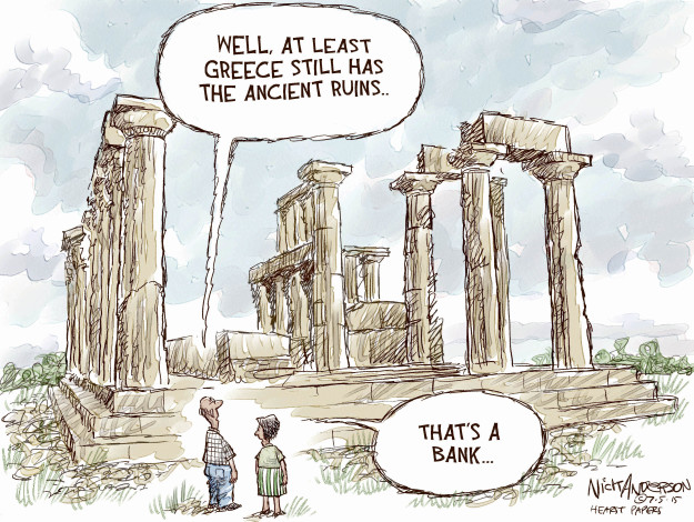Nick Anderson  Nick Anderson's Editorial Cartoons 2015-07-05 well