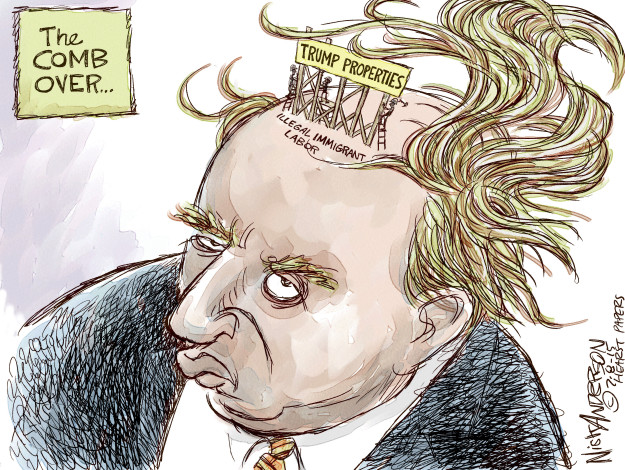 Cartoonist Nick Anderson  Nick Anderson's Editorial Cartoons 2015-07-08 Donald