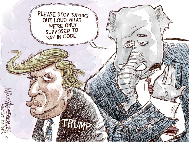 Cartoonist Nick Anderson  Nick Anderson's Editorial Cartoons 2015-07-12 Donald