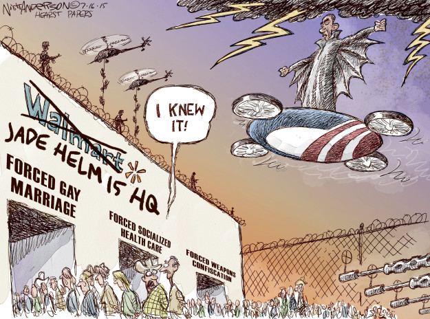 Cartoonist Nick Anderson  Nick Anderson's Editorial Cartoons 2015-07-16 affordable care act