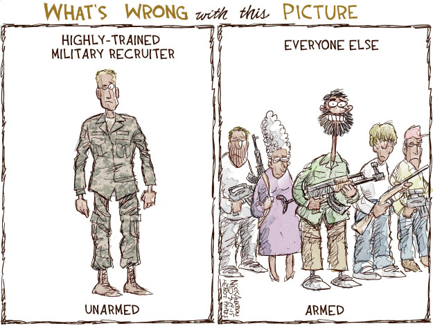 Cartoonist Nick Anderson  Nick Anderson's Editorial Cartoons 2015-07-19 murder