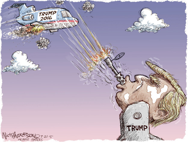 Cartoonist Nick Anderson  Nick Anderson's Editorial Cartoons 2015-07-21 2016 election