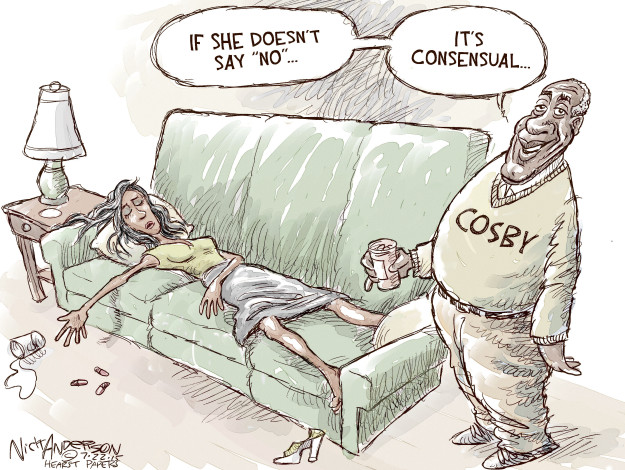 Nick Anderson  Nick Anderson's Editorial Cartoons 2015-07-22 allegation