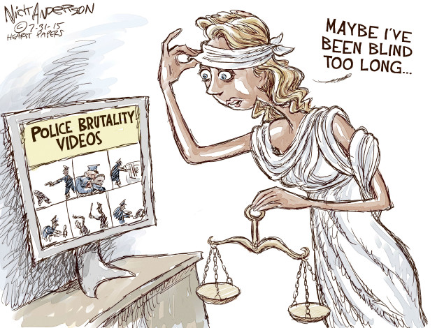 Nick Anderson  Nick Anderson's Editorial Cartoons 2015-07-31 discrimination