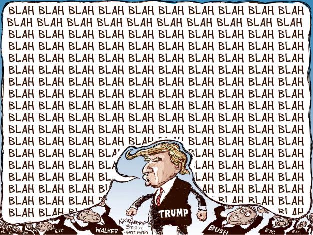 Nick Anderson  Nick Anderson's Editorial Cartoons 2015-08-02 2016 election Scott Walker