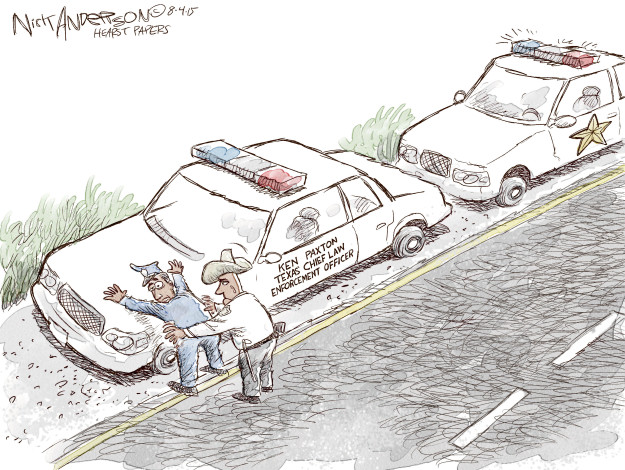 Nick Anderson  Nick Anderson's Editorial Cartoons 2015-08-04 law enforcement