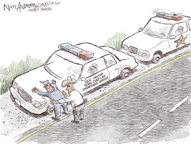 Nick Anderson  Nick Anderson's Editorial Cartoons 2015-08-04 chief