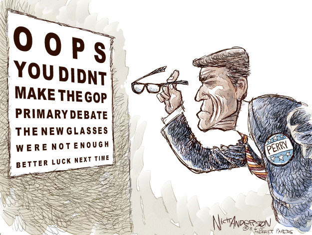 Cartoonist Nick Anderson  Nick Anderson's Editorial Cartoons 2015-08-06 Perry