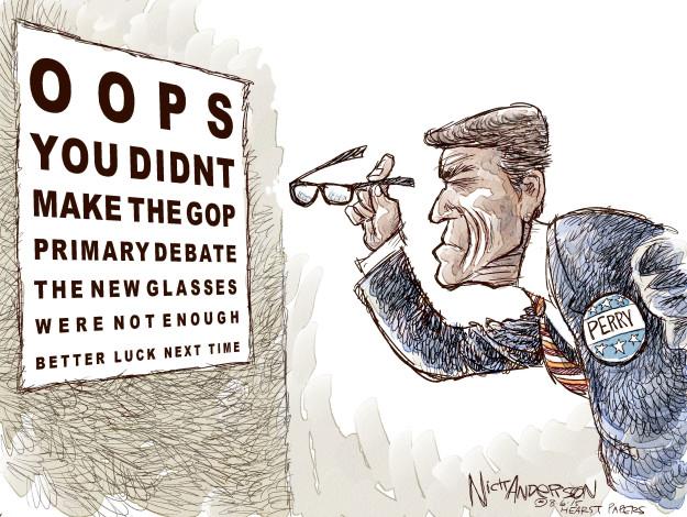 Nick Anderson  Nick Anderson's Editorial Cartoons 2015-08-06 2016 Republican Debate