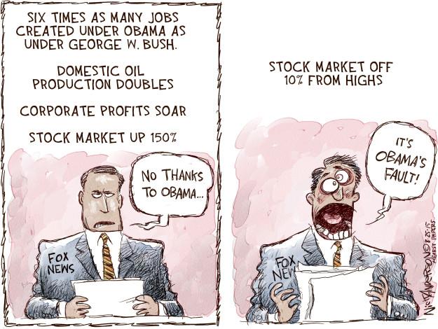 Cartoonist Nick Anderson  Nick Anderson's Editorial Cartoons 2015-08-25 George Bush