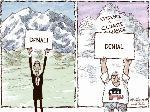 Cartoonist Nick Anderson  Nick Anderson's Editorial Cartoons 2015-09-02 Obama climate change