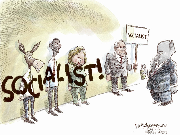 Cartoonist Nick Anderson  Nick Anderson's Editorial Cartoons 2015-09-15 presidential candidate