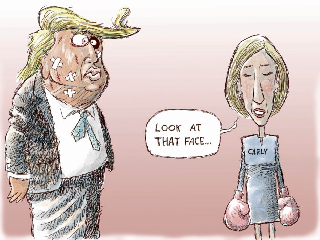 Cartoonist Nick Anderson  Nick Anderson's Editorial Cartoons 2015-09-18 presidential candidate