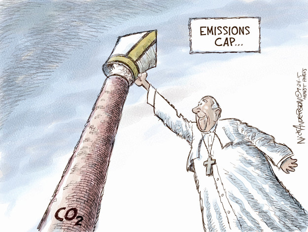 Cartoonist Nick Anderson  Nick Anderson's Editorial Cartoons 2015-09-24 Catholicism