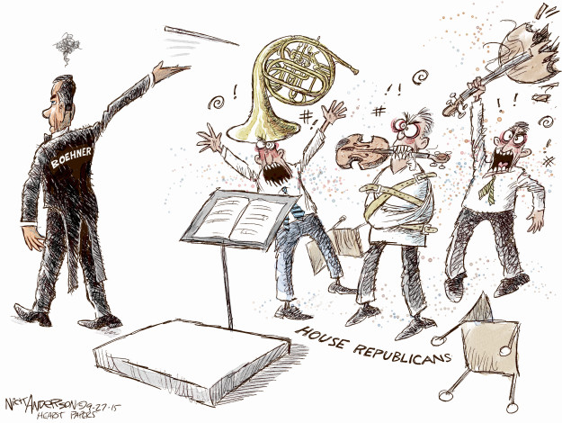 Cartoonist Nick Anderson  Nick Anderson's Editorial Cartoons 2015-09-27 speaker