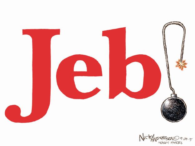Cartoonist Nick Anderson  Nick Anderson's Editorial Cartoons 2015-09-29 former governor