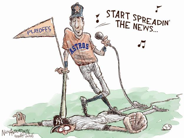 Cartoonist Nick Anderson  Nick Anderson's Editorial Cartoons 2015-10-08 Houston