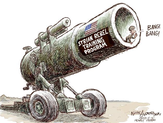 Cartoonist Nick Anderson  Nick Anderson's Editorial Cartoons 2015-10-11 international conflict