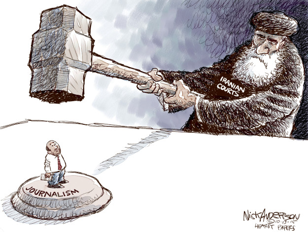 Cartoonist Nick Anderson  Nick Anderson's Editorial Cartoons 2015-10-13 accusation