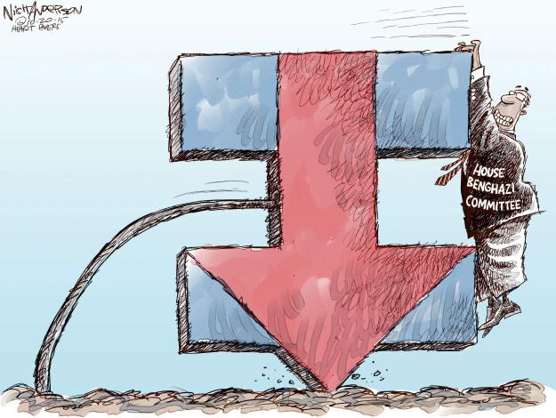 Cartoonist Nick Anderson  Nick Anderson's Editorial Cartoons 2015-10-20 primary election