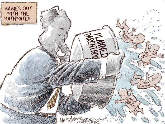 Nick Anderson  Nick Anderson's Editorial Cartoons 2015-10-21 family