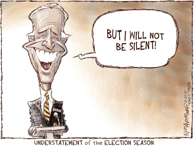 Cartoonist Nick Anderson  Nick Anderson's Editorial Cartoons 2015-10-22 presidential candidate