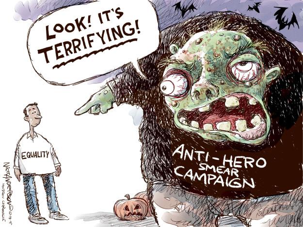 Cartoonist Nick Anderson  Nick Anderson's Editorial Cartoons 2015-10-18 Houston