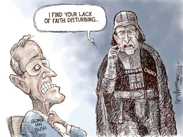 Cartoonist Nick Anderson  Nick Anderson's Editorial Cartoons 2015-11-06 Dick Cheney