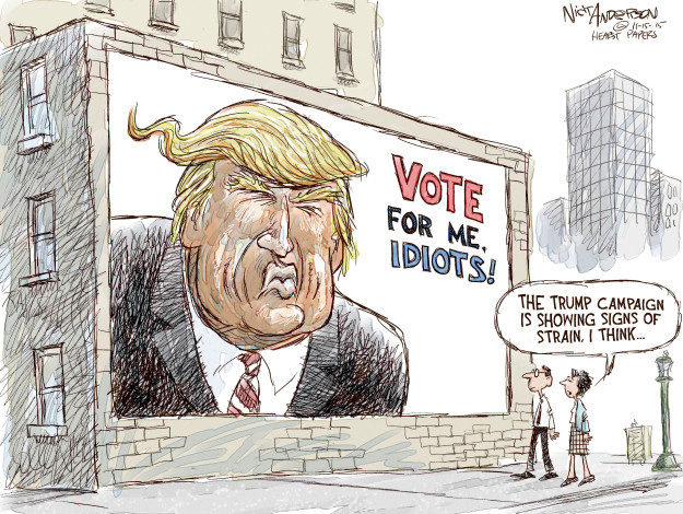 Cartoonist Nick Anderson  Nick Anderson's Editorial Cartoons 2015-11-15 2016 election