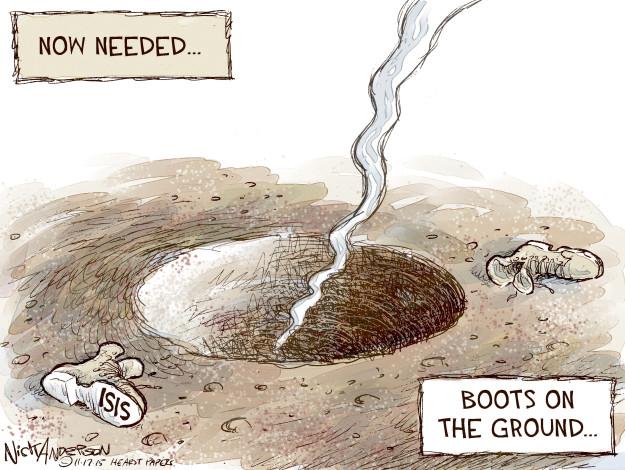 Cartoonist Nick Anderson  Nick Anderson's Editorial Cartoons 2015-11-17 missile