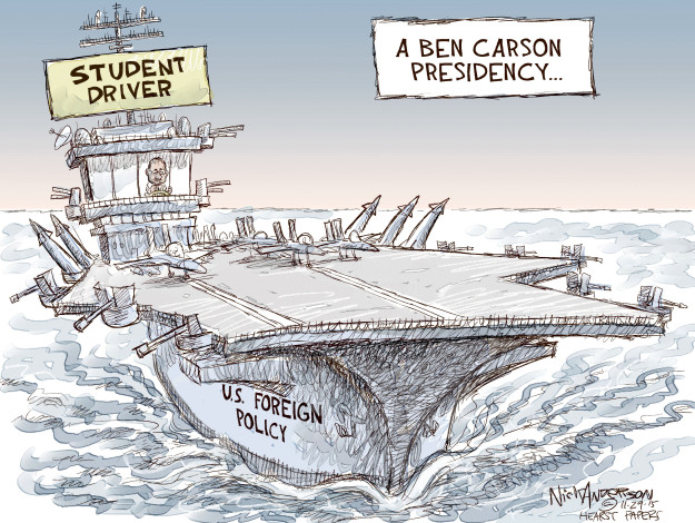 Cartoonist Nick Anderson  Nick Anderson's Editorial Cartoons 2015-11-29 education