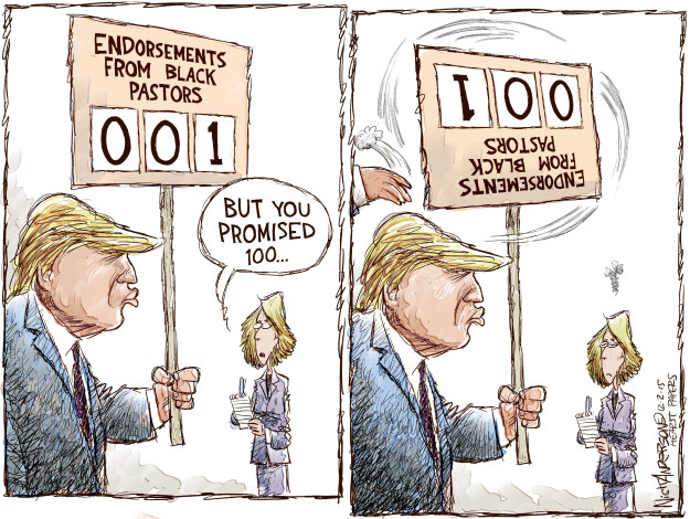 Cartoonist Nick Anderson  Nick Anderson's Editorial Cartoons 2015-12-02 2016 election