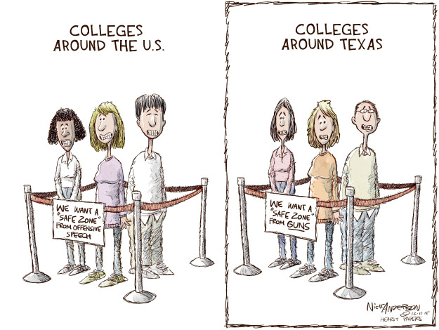 Cartoonist Nick Anderson  Nick Anderson's Editorial Cartoons 2015-12-11 education