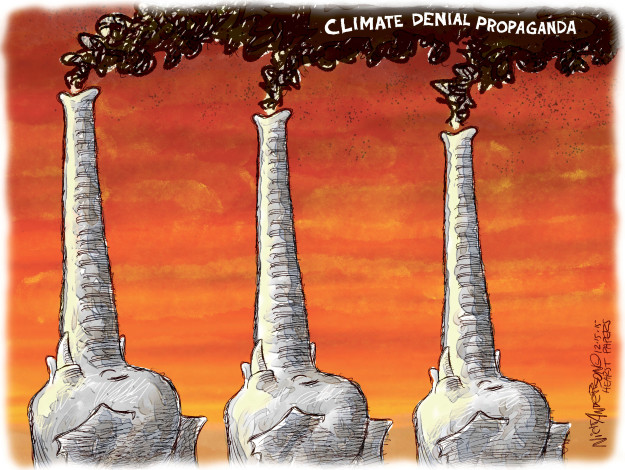 Nick Anderson  Nick Anderson's Editorial Cartoons 2015-12-15 climate