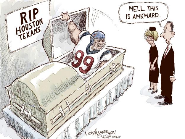 Cartoonist Nick Anderson  Nick Anderson's Editorial Cartoons 2016-01-05 player