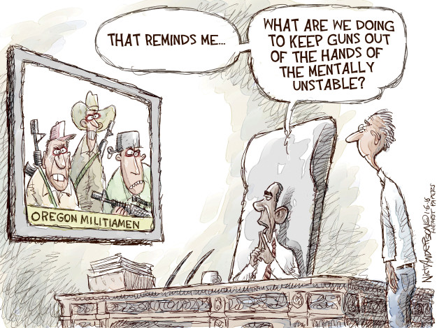 Nick Anderson  Nick Anderson's Editorial Cartoons 2016-01-06 militia