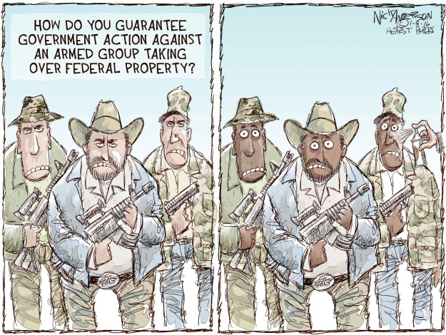 Nick Anderson  Nick Anderson's Editorial Cartoons 2016-01-08 militia
