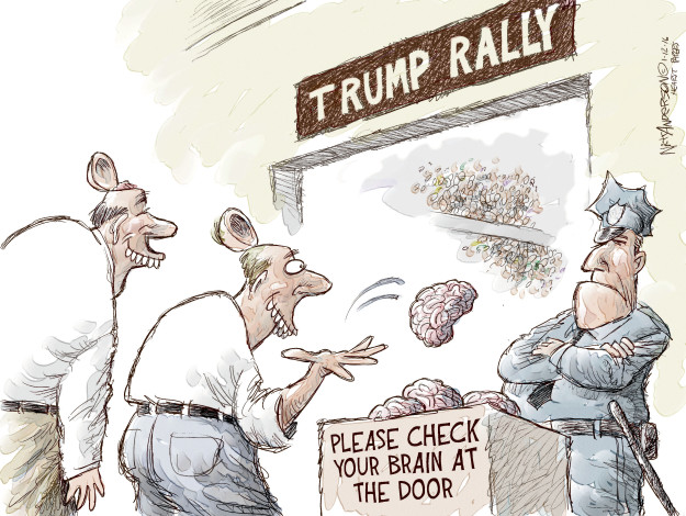 Nick Anderson  Nick Anderson's Editorial Cartoons 2016-01-12 brain