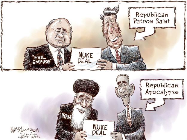 Nick Anderson  Nick Anderson's Editorial Cartoons 2016-01-14 Iran