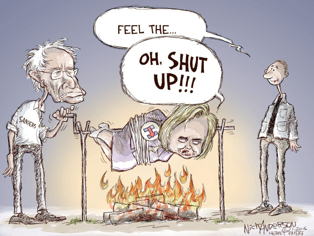 Nick Anderson  Nick Anderson's Editorial Cartoons 2016-01-20 presidential election