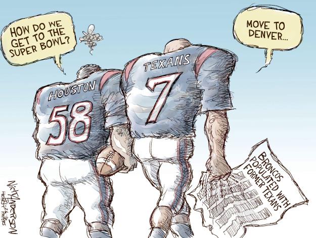 Cartoonist Nick Anderson  Nick Anderson's Editorial Cartoons 2016-01-26 Houston