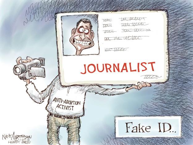 Cartoonist Nick Anderson  Nick Anderson's Editorial Cartoons 2016-01-27 Texas abortion
