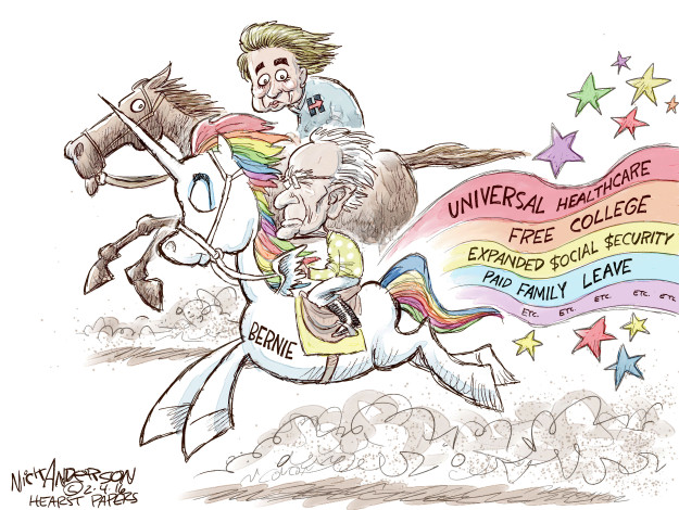 Cartoonist Nick Anderson  Nick Anderson's Editorial Cartoons 2016-02-04 social security