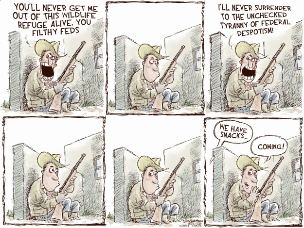Nick Anderson  Nick Anderson's Editorial Cartoons 2016-02-12 militia
